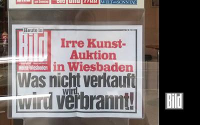 """Crazy Art Auction in Wiesbaden"""