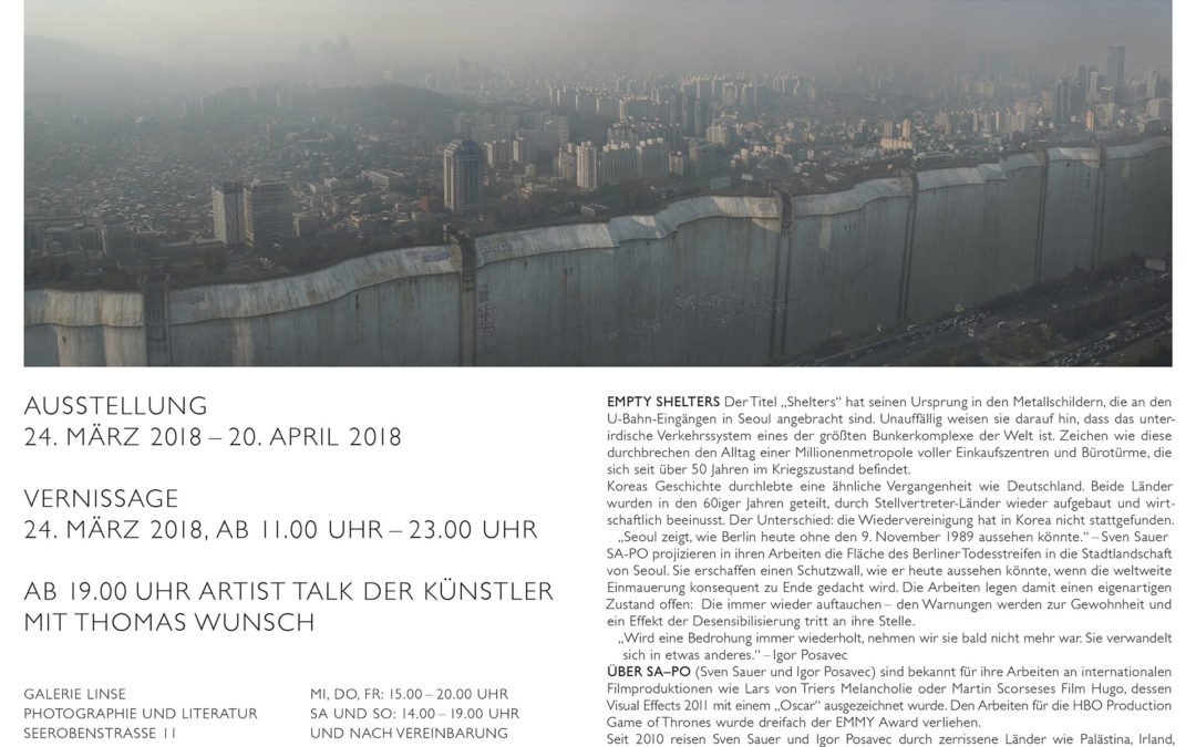 Ausstellung Galerie Linse